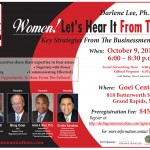 Don't miss this one-day power packed mentoring session with accomplished male executives. This conference is for executives, team-leader, professionals and the business-minded. Topics selected based on scholarly research. Learn how to: Self Promote, Negotiate, Network and Communicate Effectively in business matters.