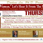 Women! Let's Hear It From The Men II Leadership Strategies From The Businessmen's Playbook